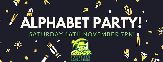 Alphabet Party @ Joondalup Sports Assocation